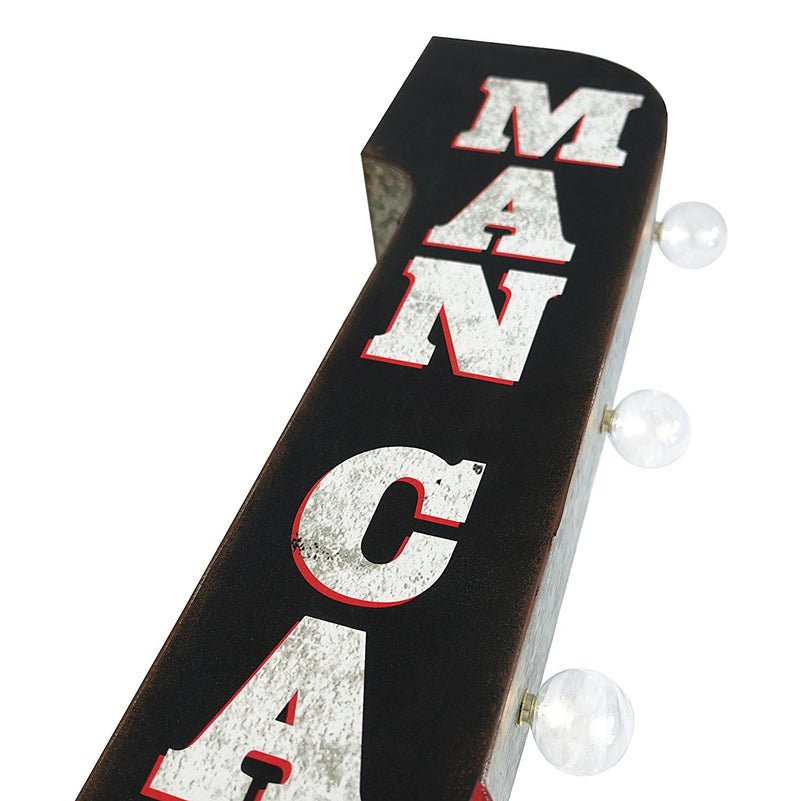 Man Cave Vintage Marquee LED Sign