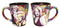 Marilyn Monroe - Colourful Collage 12 OZ Latte Mug