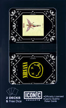 Nirvana Smiley Logo Twin Pack Playing Cards with Dice