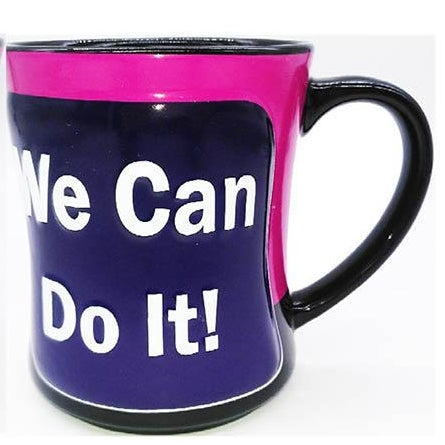 "Rosie the Riveter 16oz Mug - ""We can do it"""