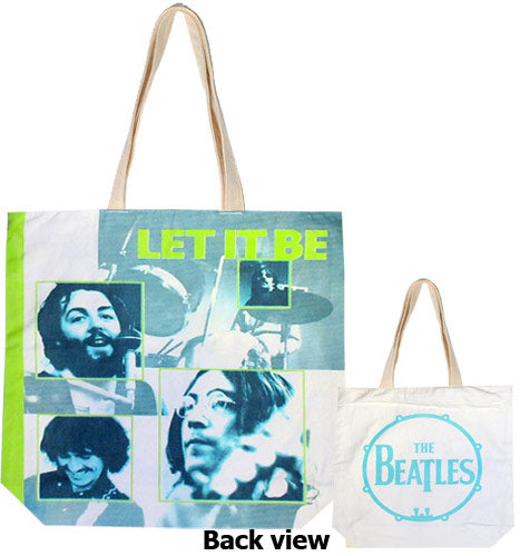 Beatles Canvas Shoulder Bag - Let it be
