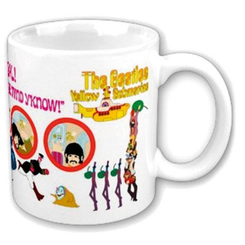 The Beatles Mug - Yellow Submarine Nothing is Real