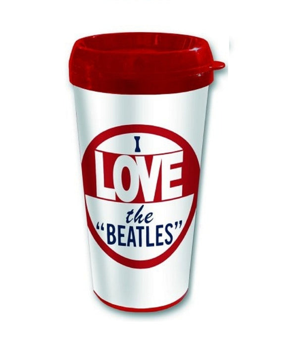 The Beatles Travel Mug  - I Love The Beatles