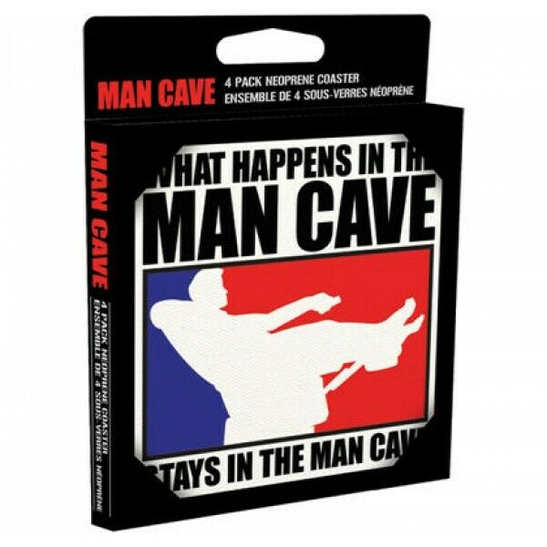 Man Cave Coaster Set
