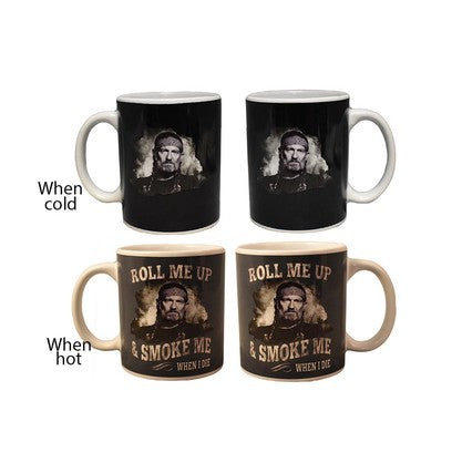 Willie Nelson Heat Changing Mug