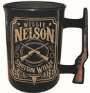 "Willie Nelson 16oz Mug - ""Decorative Handle Willie"""
