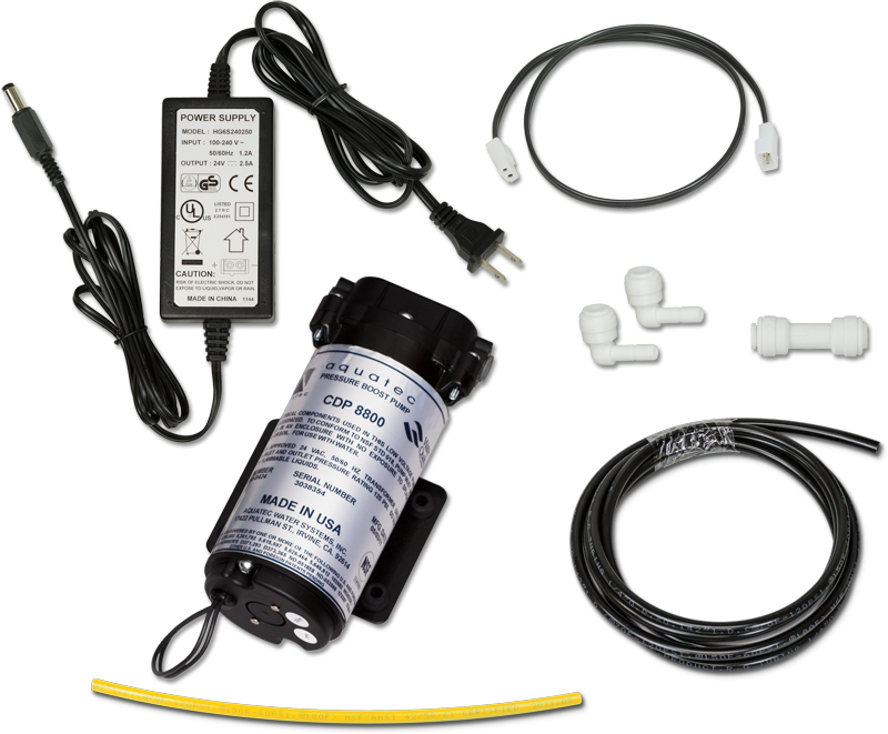 SpectraPure® Booster Pump Kit for SpectraPure® Auto Flush Systems - Spectrapure