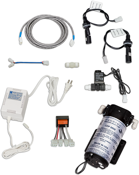 Dual Electronic Float Booster Pump Kit - Spectrapure