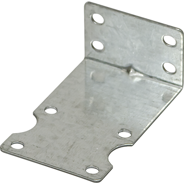 Single Position Plated Steel Housing Bracket - Spectrapure