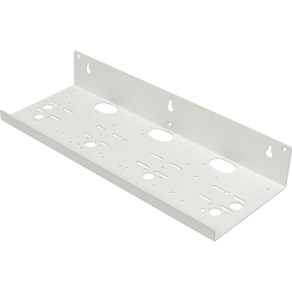 Four Position Steel Housing Bracket with White Powder Coat - BRKT-4-STD-CRS - Spectrapure