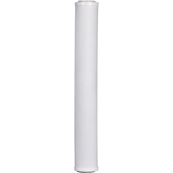 "SpectraPure® 5 Micron Carbon Block Filter Cartridge - 20"" - Spectrapure"