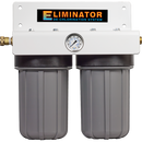 "SpectraPure® Eliminator Dechlor 2 Stage 10"" Big-Grey Dual Carbon Dechlorination Filter - Spectrapure"