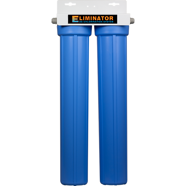 "SpectraPure® Eliminator Dechlor  2 Stage 20"" Dual Carbon Dechlorination Filter System - Spectrapure"