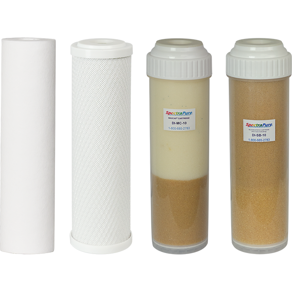 SpectraPure® Standard MaxCap® RO/DI Replacement Filter Kit - SpectraPure