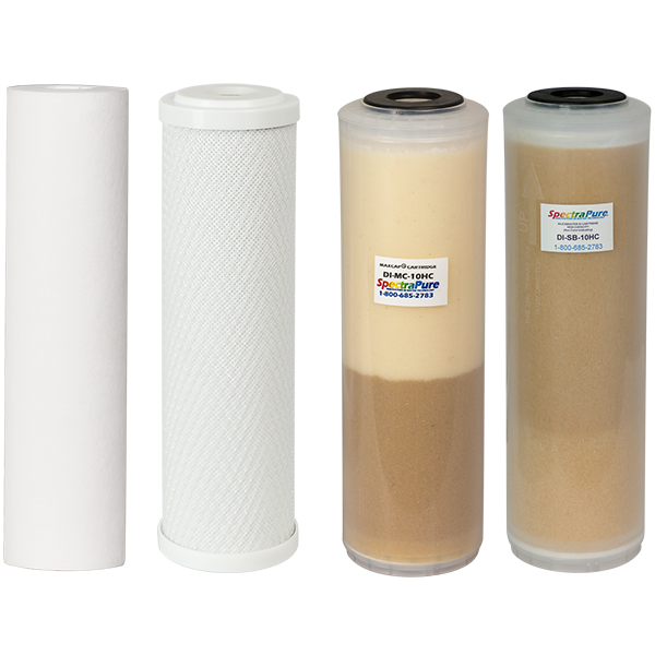 SpectraPure® MaxCap RO/DI High Capacity Replacement Filter Kit - Spectrapure
