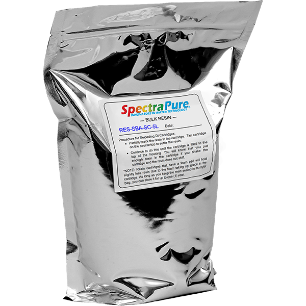 SpectraPure® Semi-Conductor Grade Strong-Base-Anion DI Resin - 5 Liter - Spectrapure