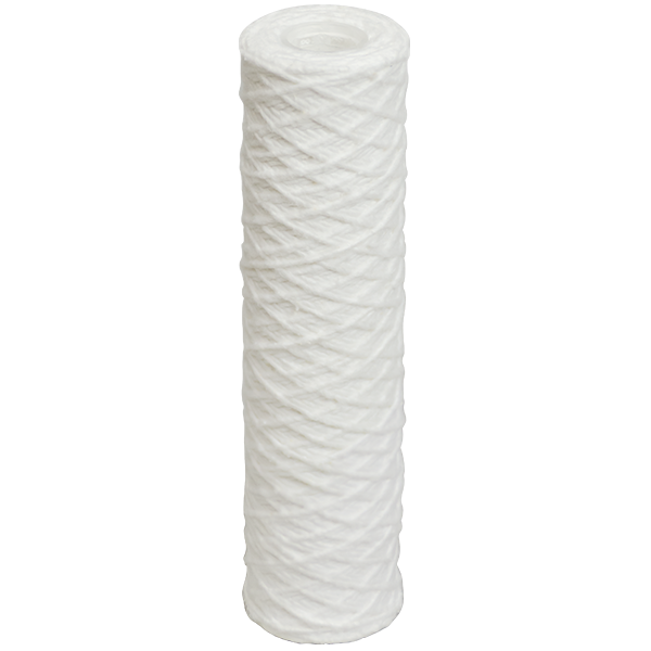 "0.5 Micron String Wound Sediment Filter Cartridge 10"" - Spectrapure"