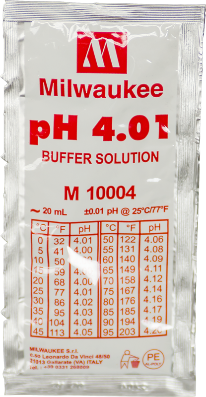 4.01 pH Buffer Solution 20ml - Spectrapure