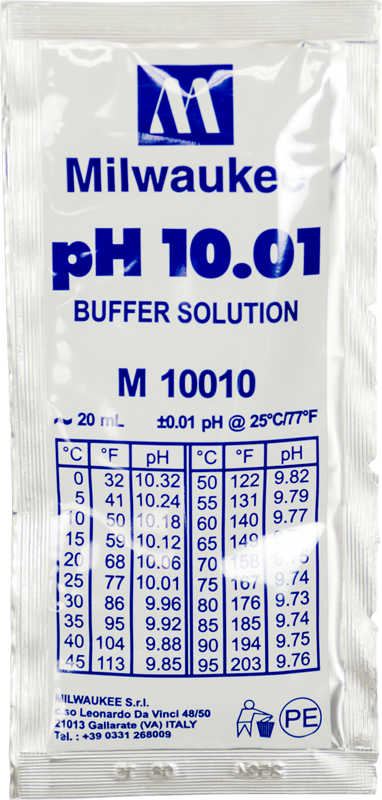 10.01 pH Buffer Solution - 20ml - Spectrapure