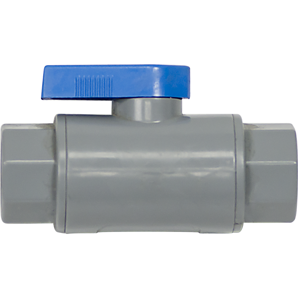 2 Way PVC Ball Valve - 0.25 inch FPT Fittings - Spectrapure