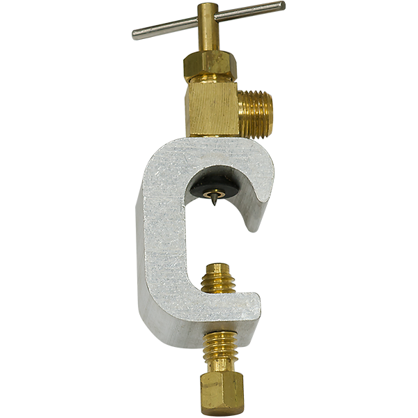 Deluxe Piercing Saddle Valve 0.25 inch Compression Fitting - Spectrapure