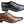 Ferricelli Sampson Mens Wave Memory Comfort Technology Leather Dress Shoes