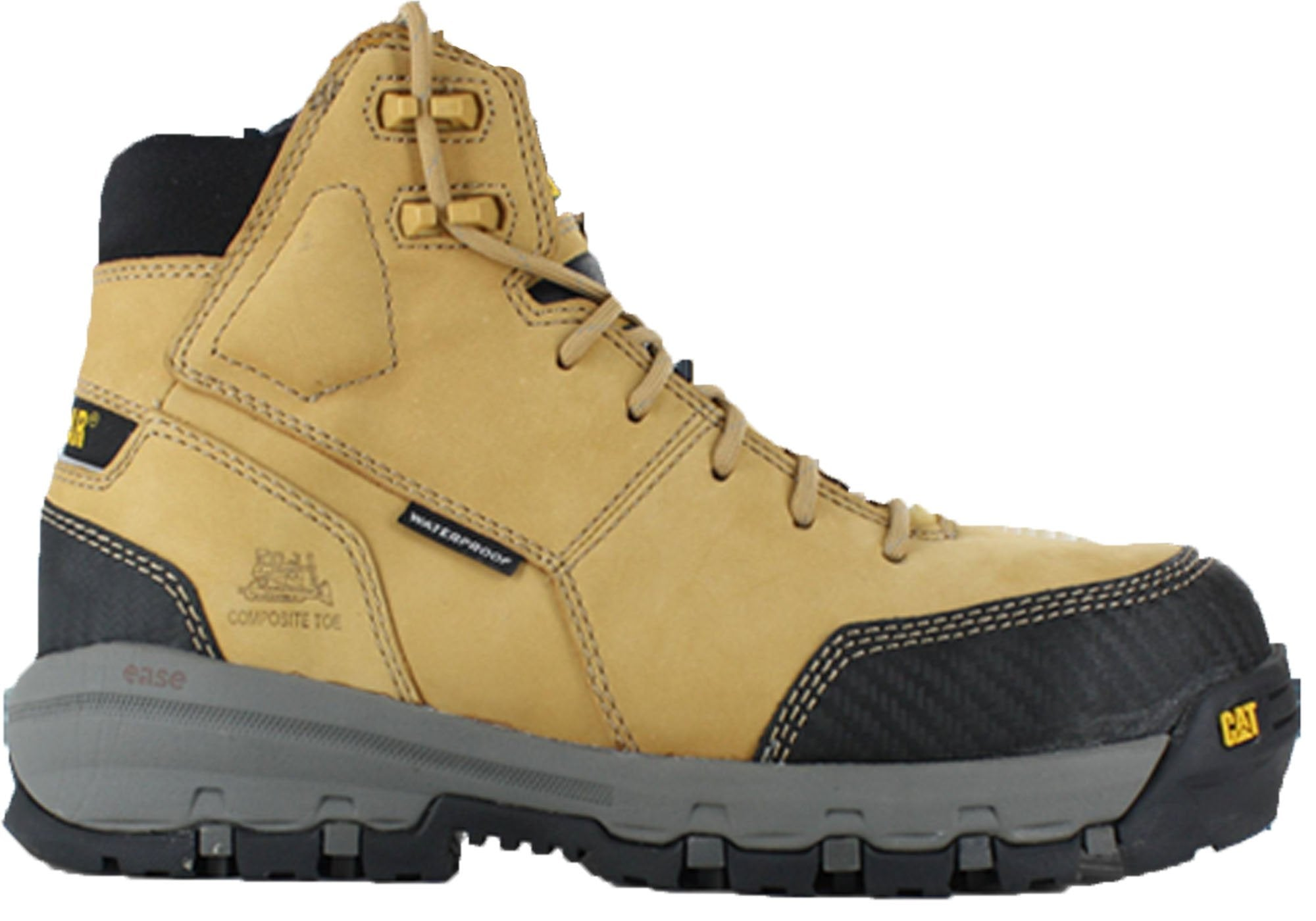 3422f86469979 Caterpillar Mens Work Boots, Caterpillar Safety Boots - Mode Footwear