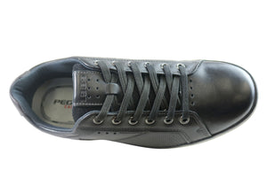 Pegada Trevor Mens Leather Lace Up Comfort Casual Shoes Made In Brazil