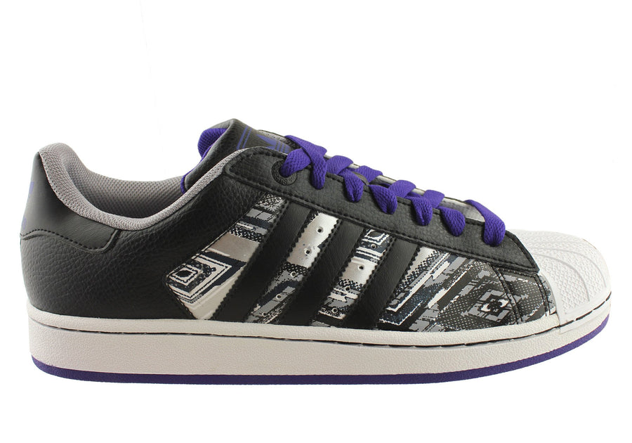 Black/Grey/Purple