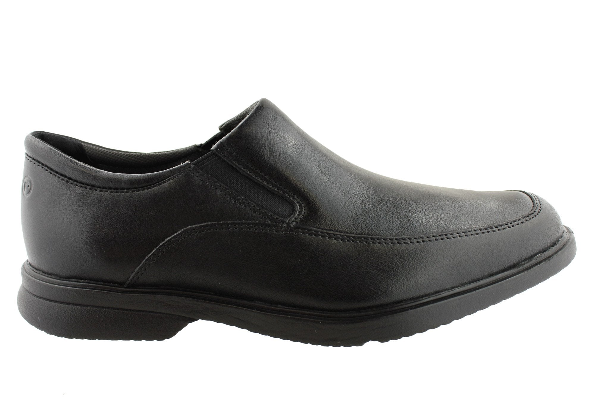 89126822e8fa Rockport Aderner Mens Leather Wide Fit Slip On Shoes