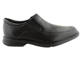 Rockport Aderner Mens Leather Wide Fit Slip On Shoes