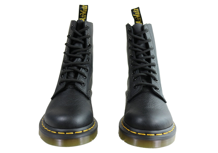 Dr Martens 1460 Pascal Virginia Womens Leather Fashion Lace Up Boots
