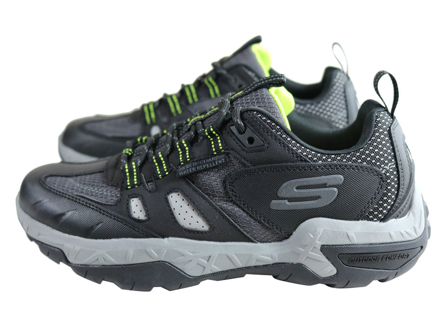 Skechers Mens Sawback Pro Comfortable Memory Foam Shoes