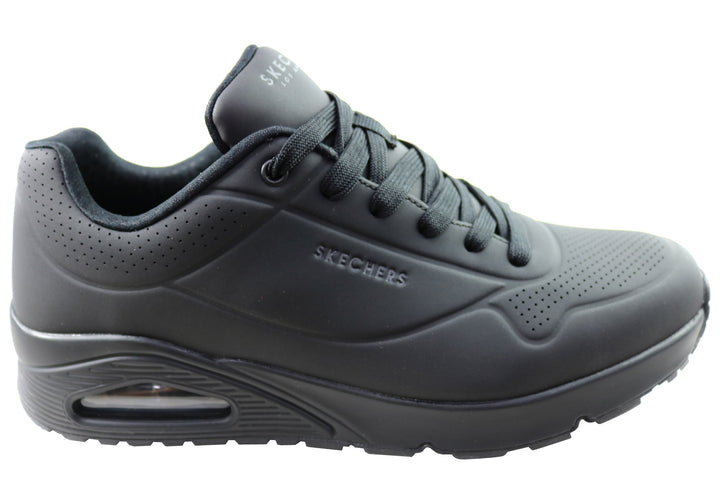 Skechers Mens Uno Stand On Air Comfortable Memory Foam Shoes