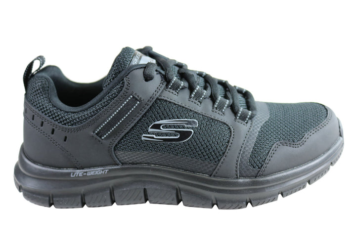 Skechers Mens Track Knockhill Comfortable Memory Foam Shoes