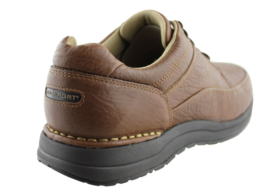 Rockport Edge Hill Mens Leather Comfort Wide Fit Shoes