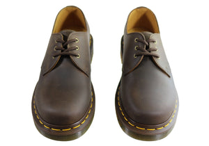 Dr Martens 1461 Gaucho Crazy Horse Lace Up Comfortable Unisex Shoes