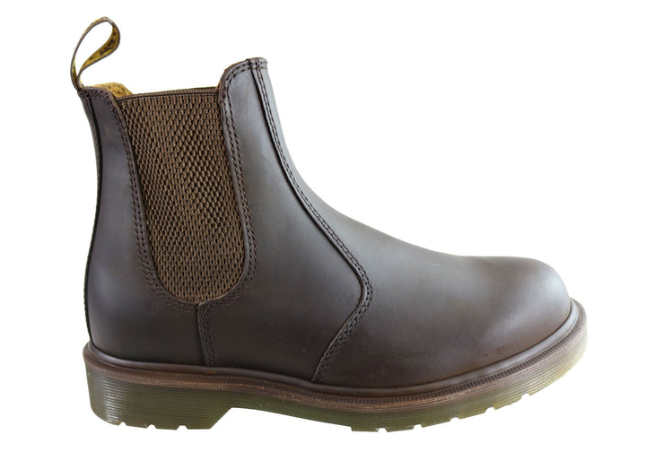 Dr Martens 2976 Gaucho Crazy Horse Unisex Leather Chelsea Boots