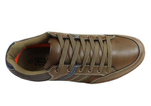 Woodlands Wes Mens Comfortable Lace Up Casual Shoes