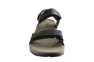 Merrell Mens Sandspur Backstrap Leather Sandals With Adjustable Straps
