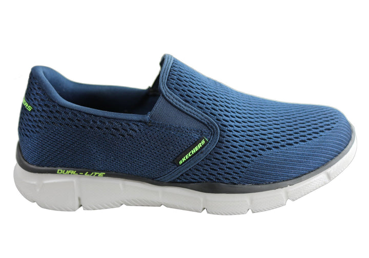 Skechers Mens Equalizer Double Play Memory Foam Casual Shoes