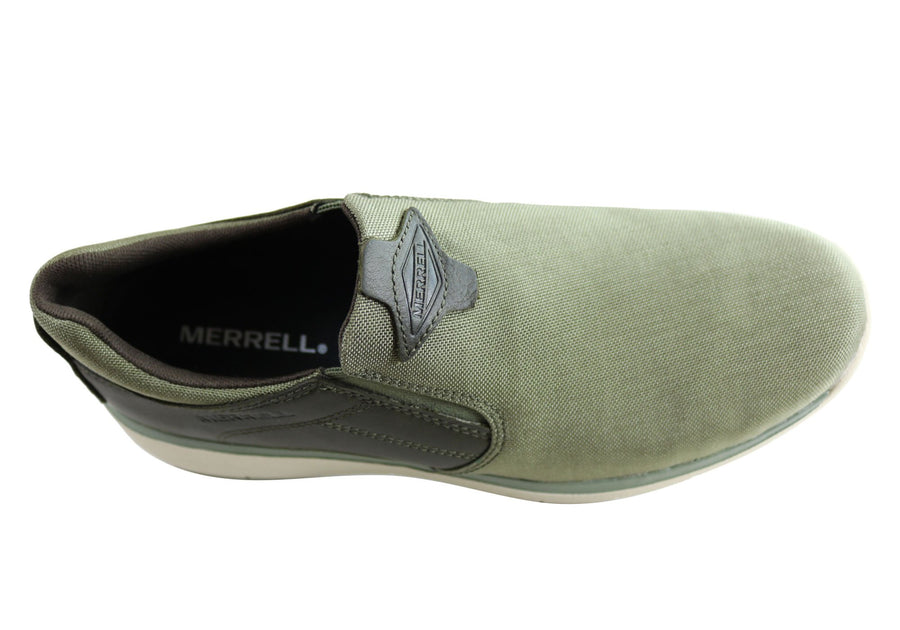 Merrell Mens Harrison Moc Comfortable Casual Shoes