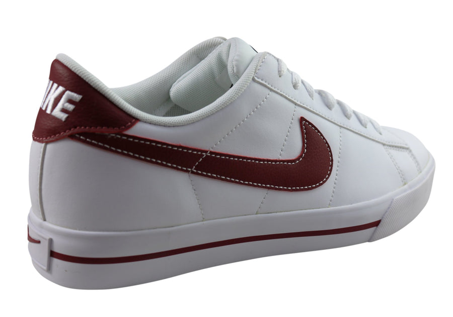 Nike Mens Sweet Classic Leather Lace Up Casual Shoes