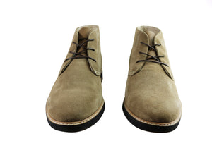 Slatters Orlando Mens Comfortable Suede Lace Up Dress Boots