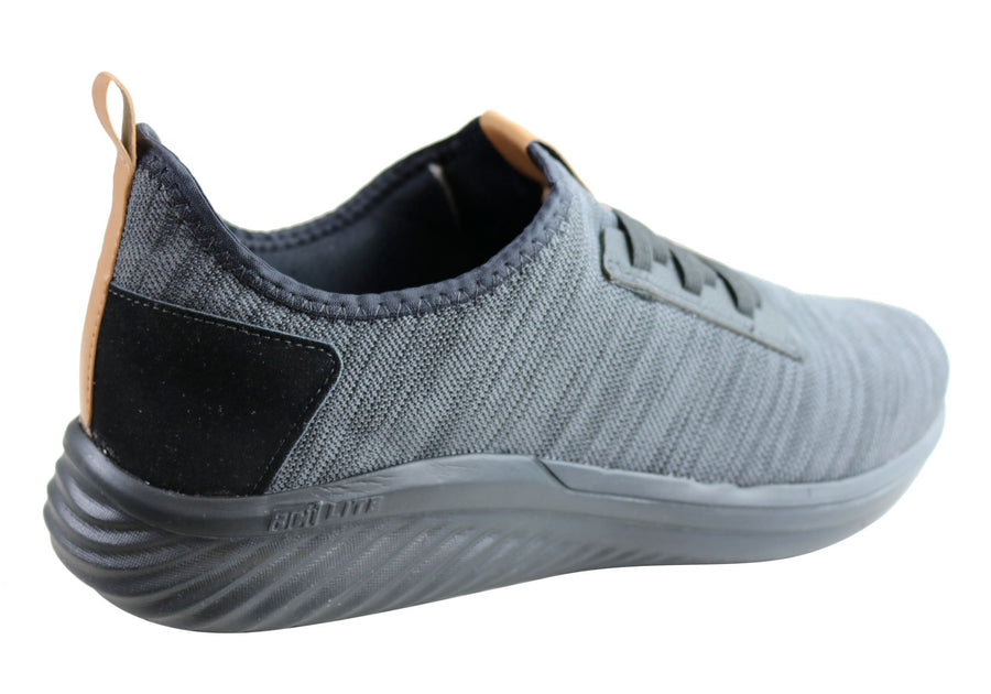 Actvitta Edison Mens Comfortable Cushioned Slip On Active Shoes