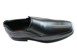 Savelli Hunt Mens Comfort Slip On Leather Dress Shoes Made In Brazil