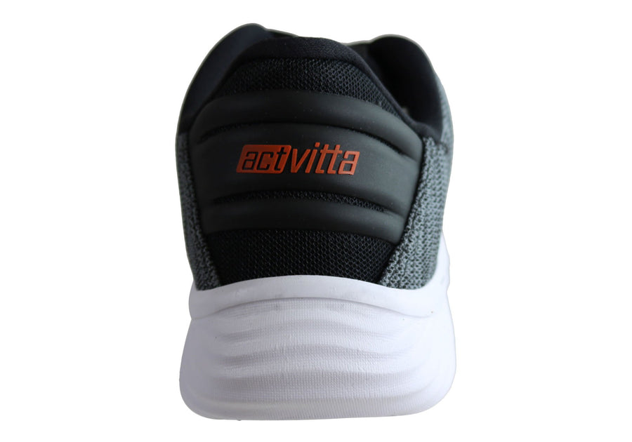 Actvitta Motion Mens Comfortable Cushioned Lace Up Active Shoes