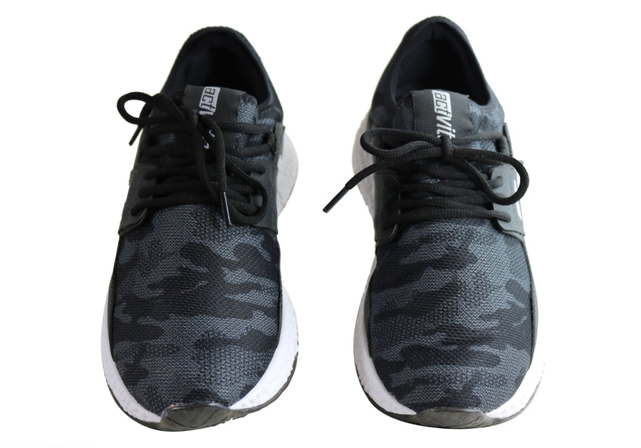 Actvitta Revolve Mens Comfort Cushioned Active Shoes Made In Brazil