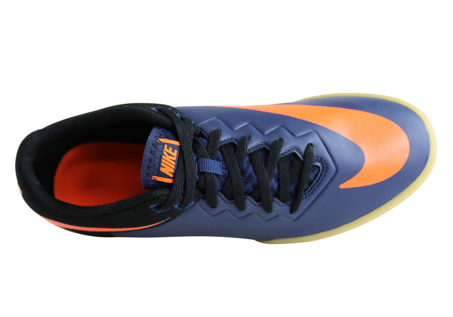 Mid Navy/Orange