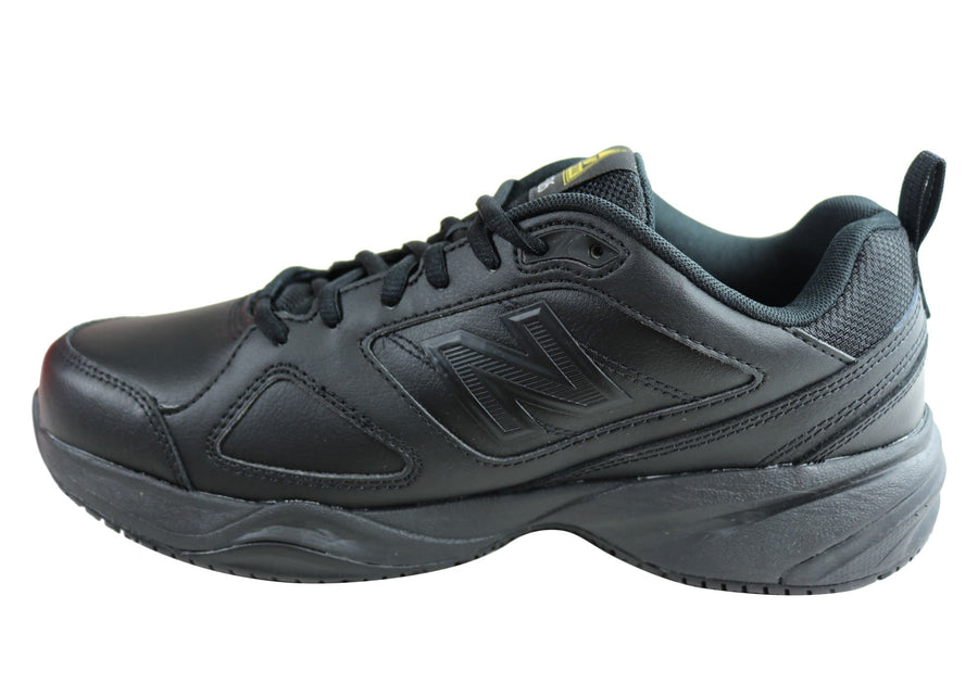 New Balance Mens 626 Slip Resistant 2E Wide Fit Work Shoes